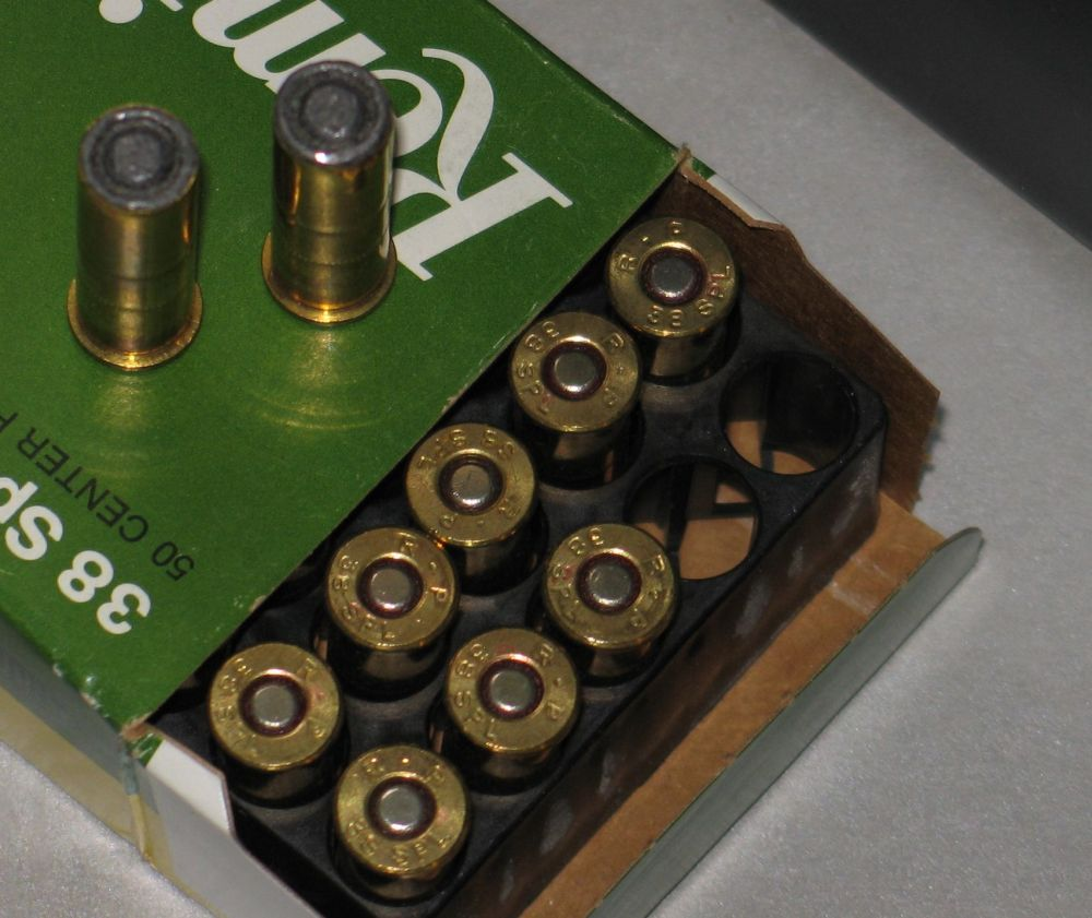SOLD: Factory Rem 38 Spl 148 HBWC ammo - 1980's/90's vintage ***SOLD 38_hbw11