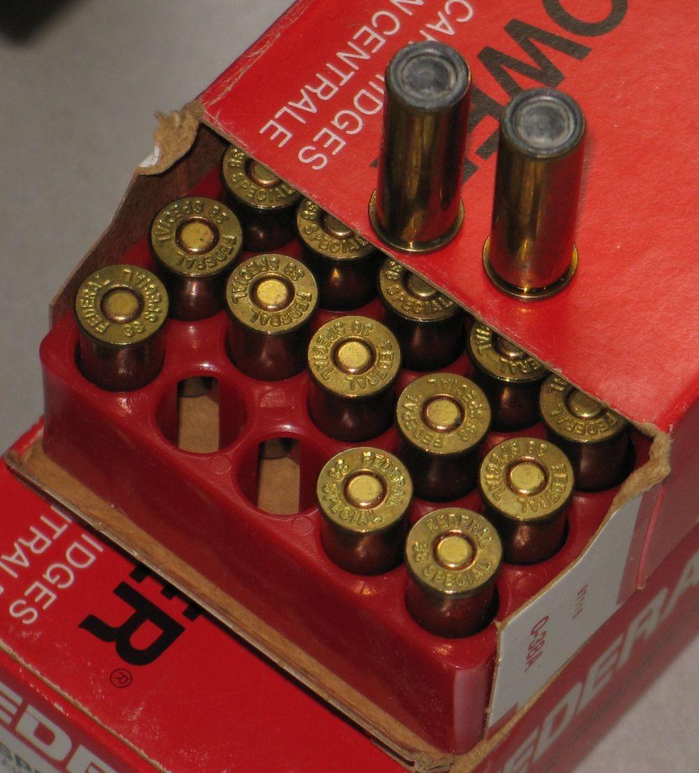 SOLD: Factory Rem 38 Spl 148 HBWC ammo - 1980's/90's vintage ***SOLD 38_hbw12
