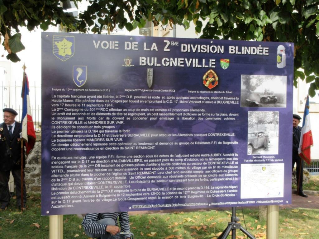 Borne du serment de Koufra: BULGNÉVILLE (88) Bulgne23