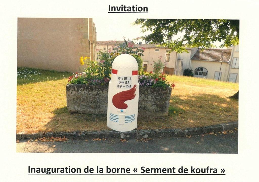 Borne du serment de Koufra: REMONCOURT (88) Invita11