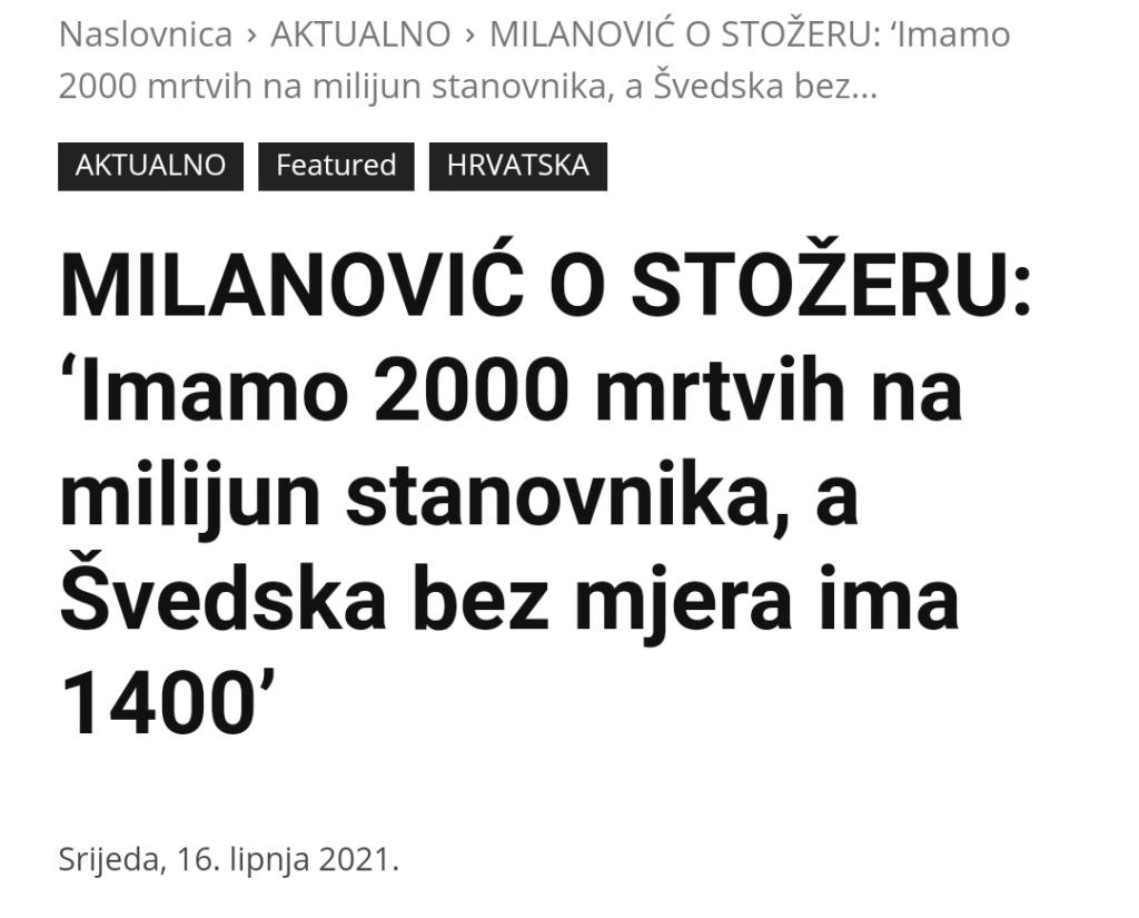 Milanović postavio pitanje zašto nam je tako visoka smrtnost od korone, evo što kažu stručnjaci Img_2296