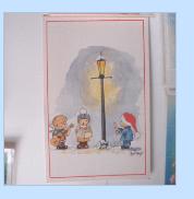 Χριστουγεννιάτικες και άλλες κάρτες, πλαστική παλέτα, μπλοκ τηλεφώνων Scree138