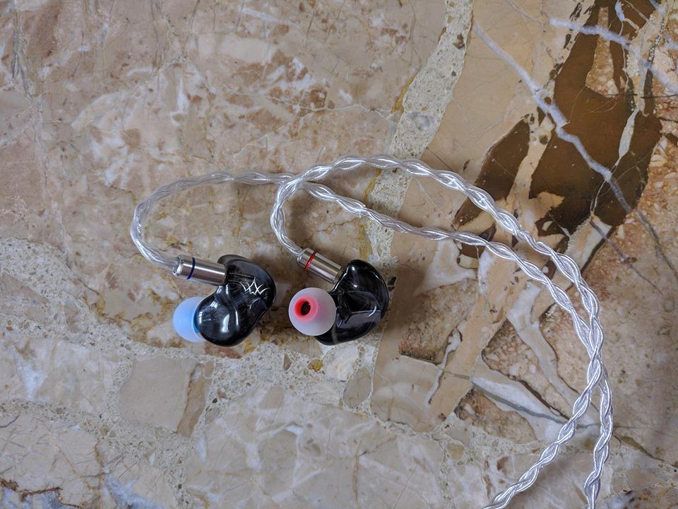 """[AN] (Nuove) Auricolari """"Fearless Audio Crystal Pearl"""" 2BA 67181110"""