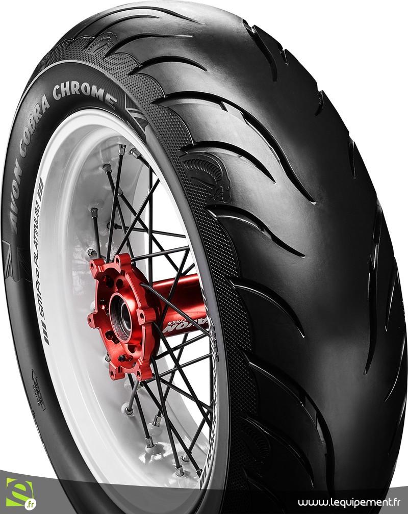 4ème trimestre 2018 : Nouveau pneu Avon COBRA CHROME Cobra-10