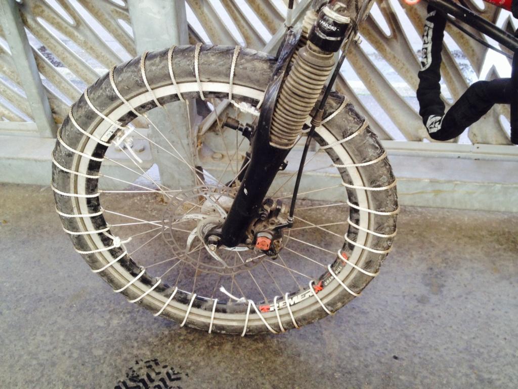 Vélo  et conditions hivernales vélotaf   Image10