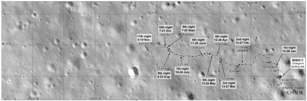 Chang'e 4 - Mission sur la face cachée de la Lune (rover Yutu 2) - Page 14 11028
