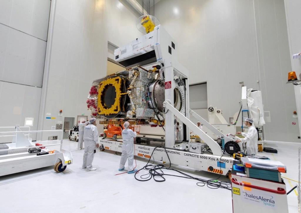 Ariane 5 VA251 (Eutelsat Konnect & GSAT 30) - 16.1.2020 11064