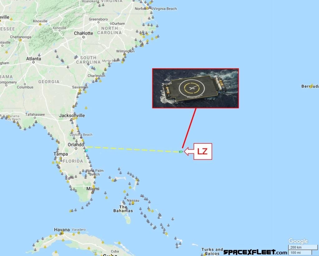 Falcon 9 (JCSAT-18/Kacific 1) - CCAFS - 17.12.2019 11115