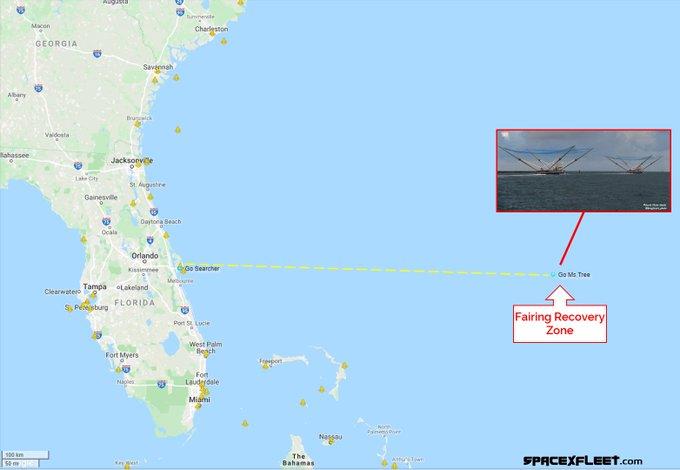 Falcon 9 (JCSAT-18/Kacific 1) - CCAFS - 17.12.2019 11117
