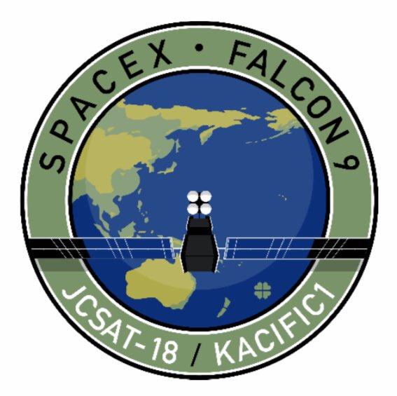 Falcon 9 (JCSAT-18/Kacific 1) - CCAFS - 17.12.2019 11118