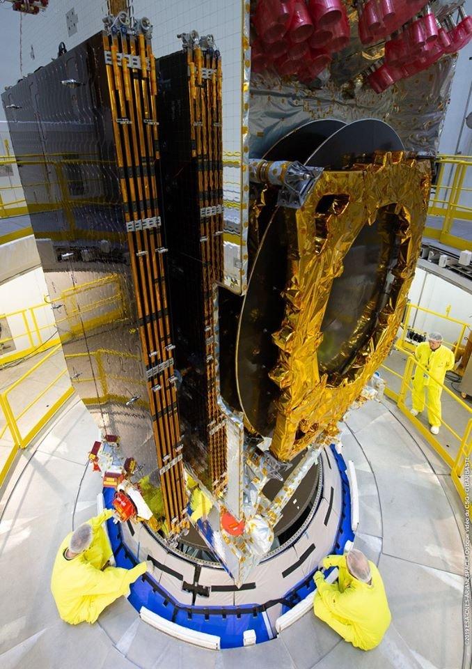 Ariane 5 VA251 (Eutelsat Konnect & GSAT 30) - 16.1.2020 11140
