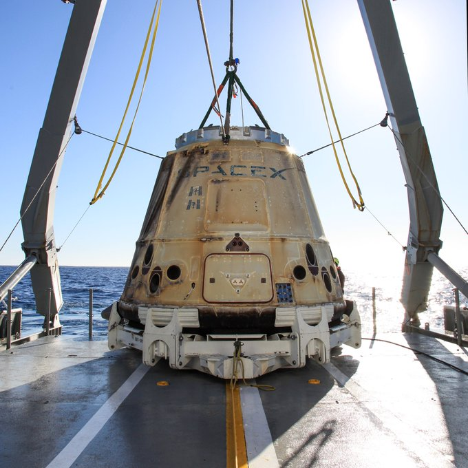 Falcon 9 (CRS-19) - CCAFS - 5.12.2019   - Page 4 11158