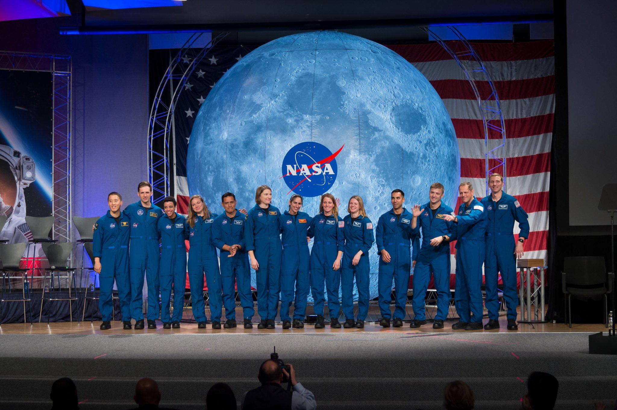 La classe d'astronautes 2017 11163
