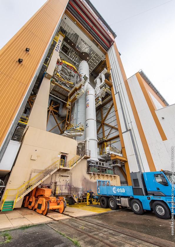 Ariane 5 VA251 (Eutelsat Konnect & GSAT 30) - 16.1.2020 11172