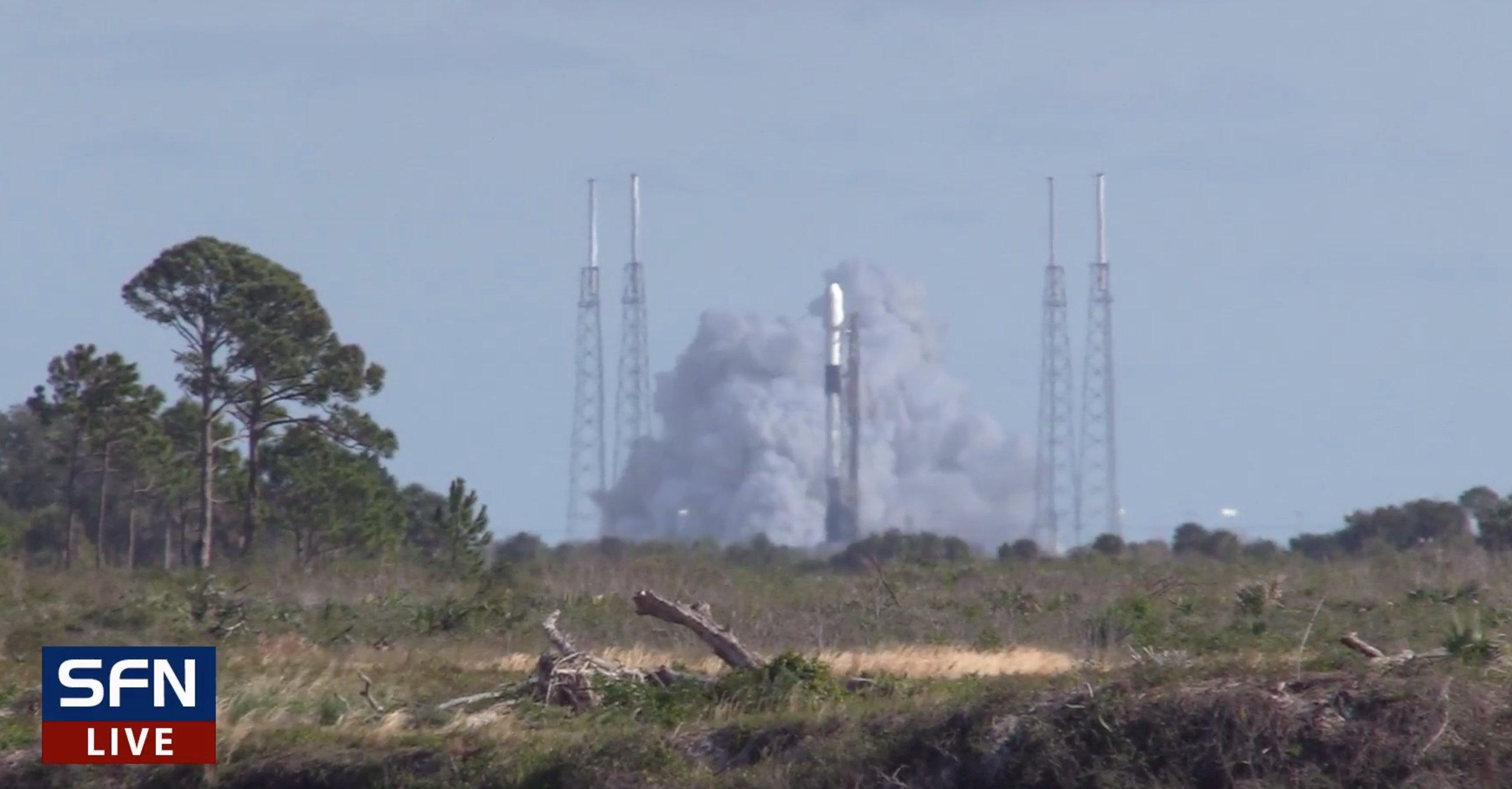 Falcon 9 (Starlink v1.0 L3) - CCAFS - 21.1.2020 11186