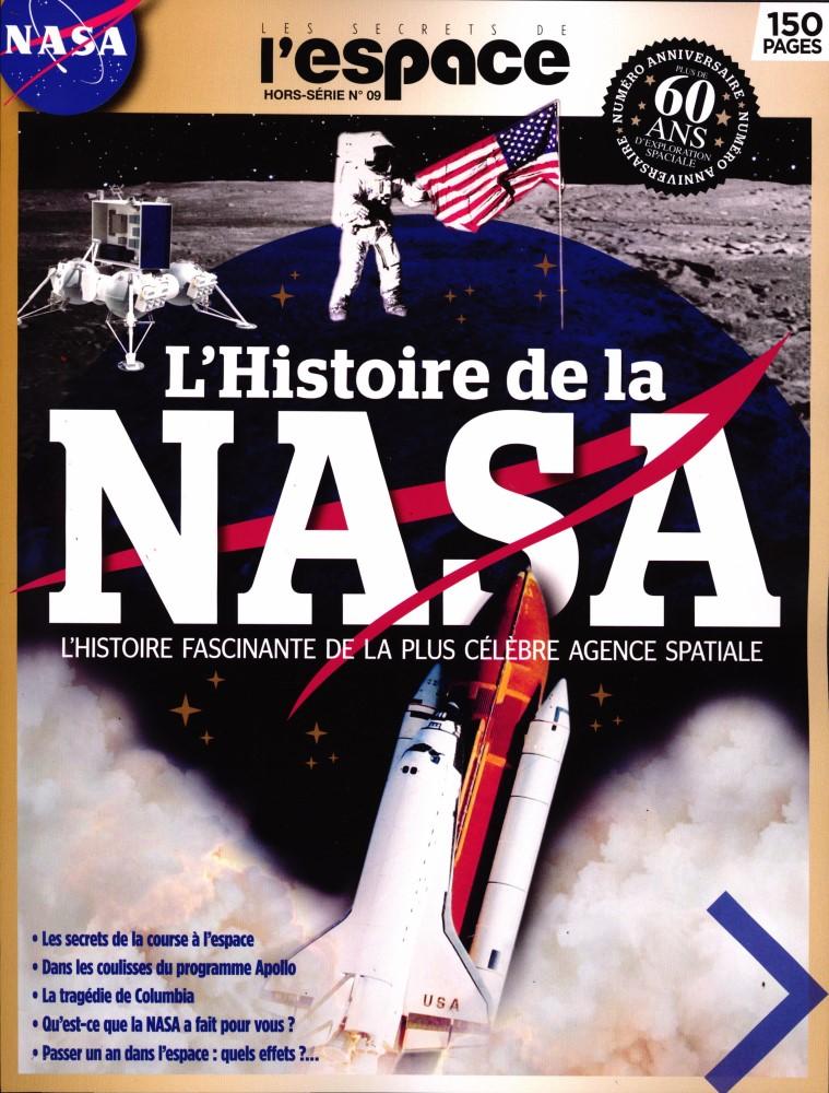 """L'Histoire de la NASA, h-s n°9 des """"Secrets de l'espace"""" [16 janvier 2020] 11190"""