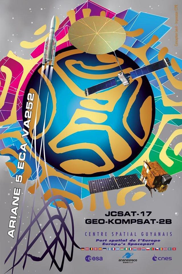 Ariane 5 VA252 (JCSat-17 & GEO-KOMPSAT-2B) - 18.02.2020  11203