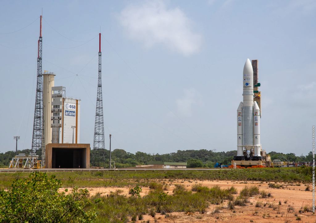 Ariane 5 VA252 (JCSat-17 & GEO-KOMPSAT-2B) - 18.02.2020  11236