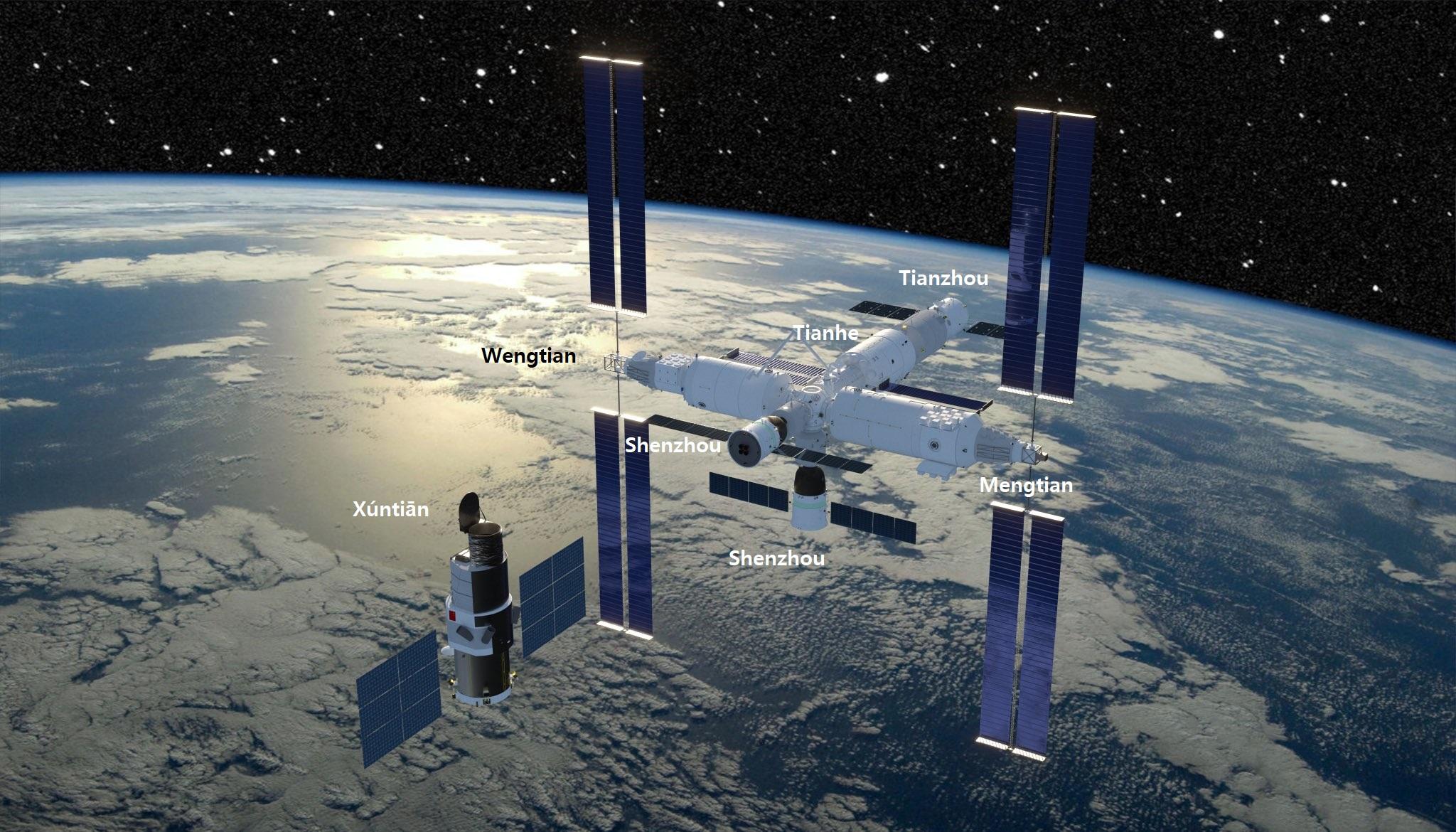 La station spatiale chinoise CSS (Mémo) 11320