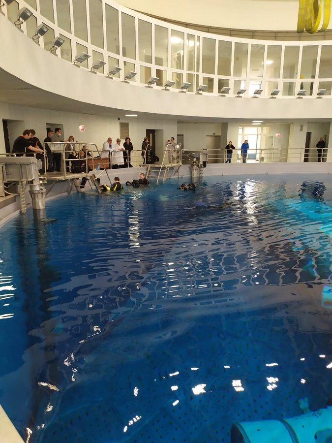 [Russie] L'hydrolaboratoire du centre d'entraînement des cosmonautes 11380