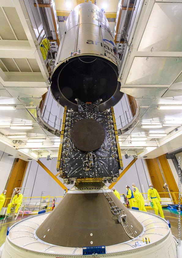 Ariane 5 VA253 (Galaxy 30 + MEV-2 + BSat-4b) - CSG - 15.8.2020 [Succès] 11450
