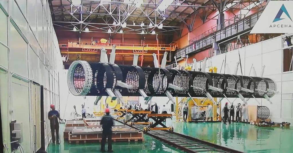 "[Russie] Projet de complexe spatial ""Nuklon"" 11470"