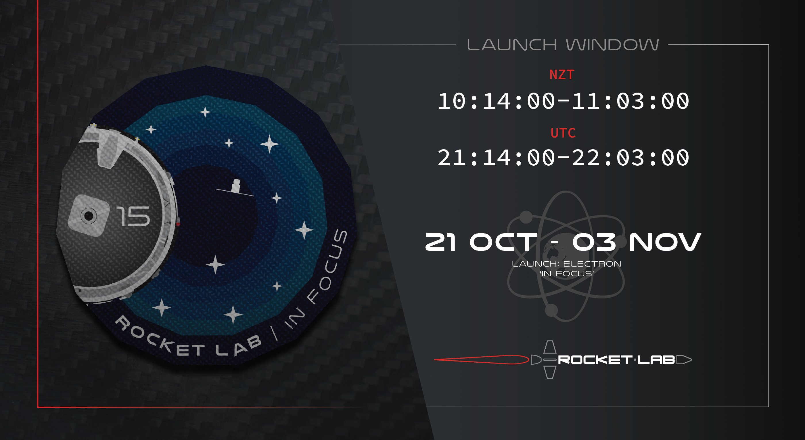 "[Rocket Lab] Electron n°15 ""In focus"" (9x Flock 4e' + CE-SAT-IIB) - OnS - 28.10.2020 11508"