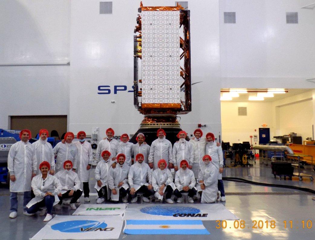 Falcon 9 block 5 (SAOCOM-1A) - 8.10.2018 [Succès] 1151