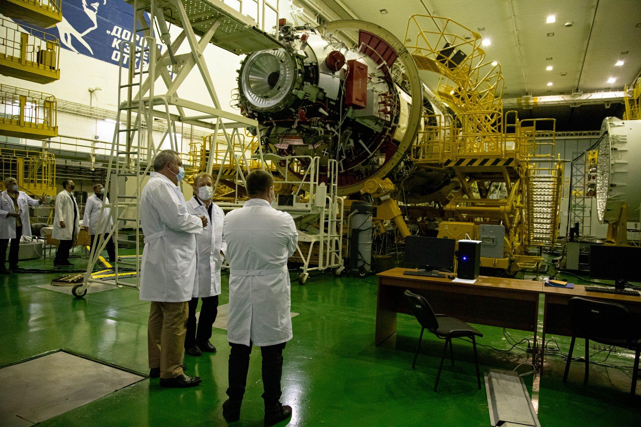 """Proton-M (MLM-U """"Nauka"""") - Baï - Mi-juillet 2021 - Page 10 11515"""