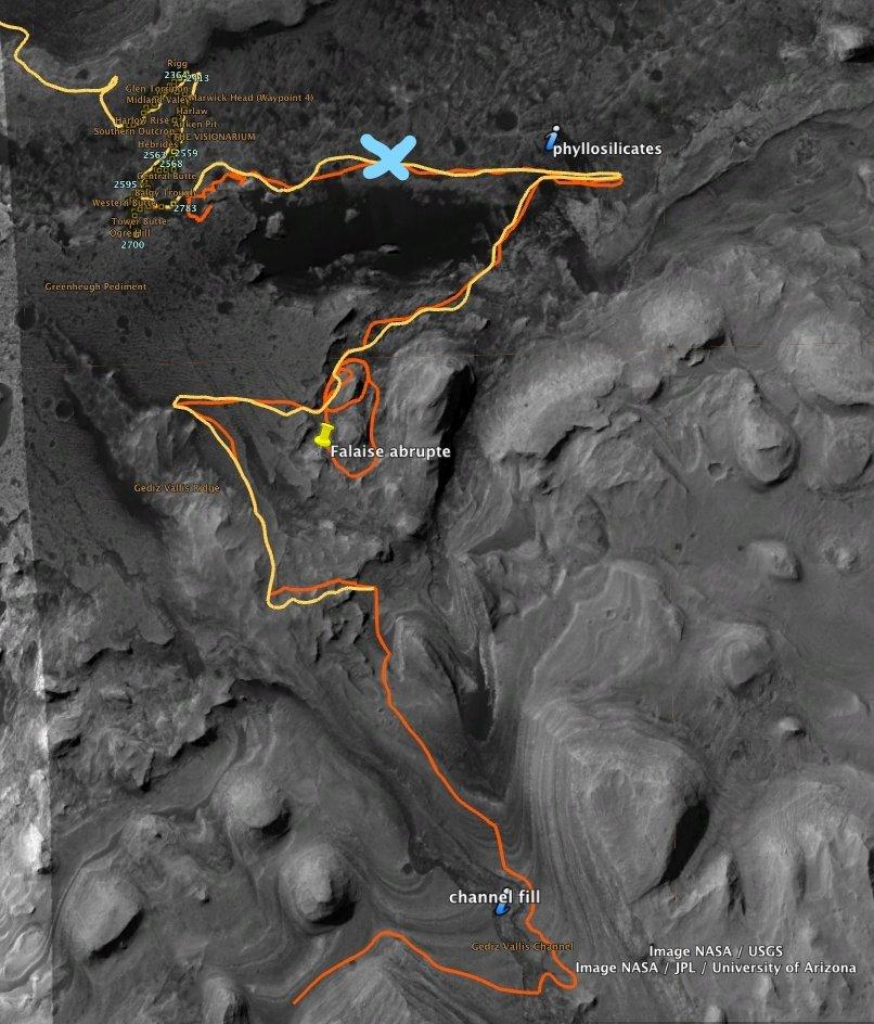 [Curiosity/MSL] L'exploration du cratère Gale (3/3) - Page 6 11665