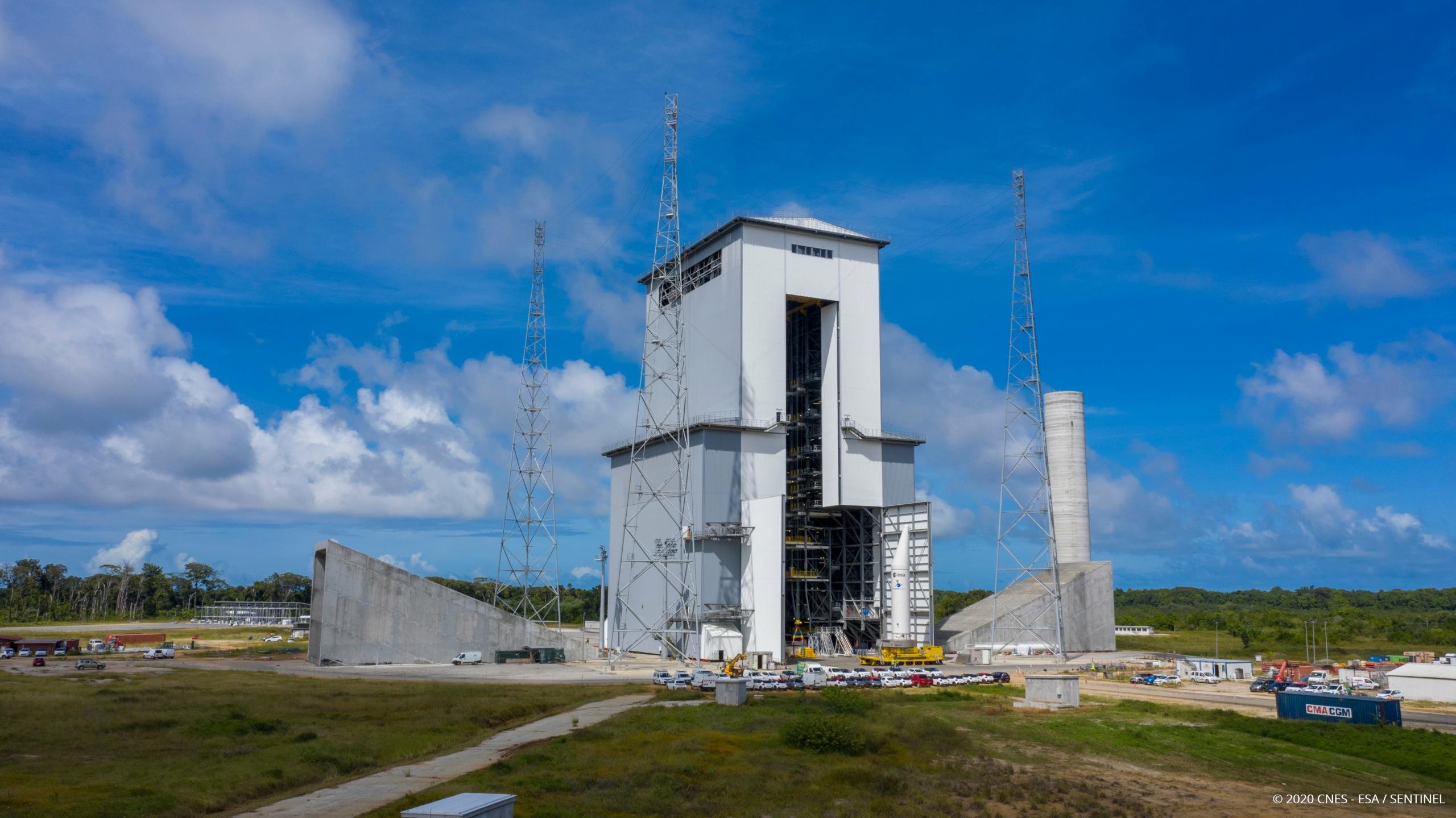 ELA-4 d'Ariane 6 - Suivi de la construction - Page 6 11690