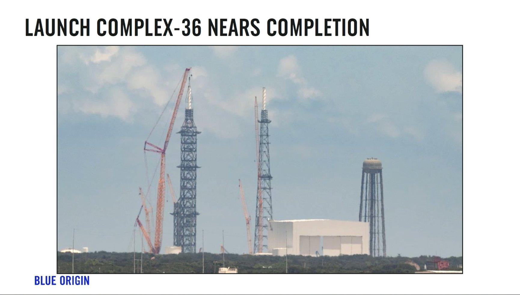 [Blue Origin] LC-36, le complexe de lancement New Glenn - Page 2 11796