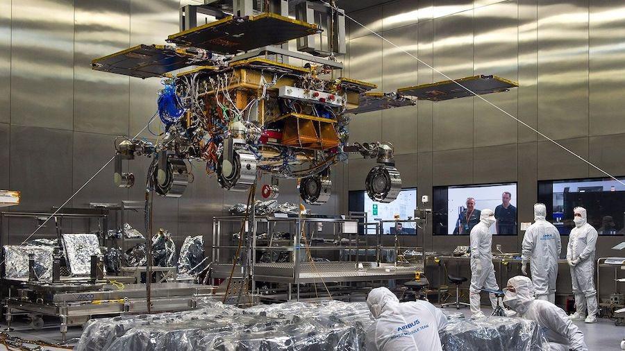 ExoMars - 2022 - Préparation de la mission (Rosalind Franklin) - Page 15 11797