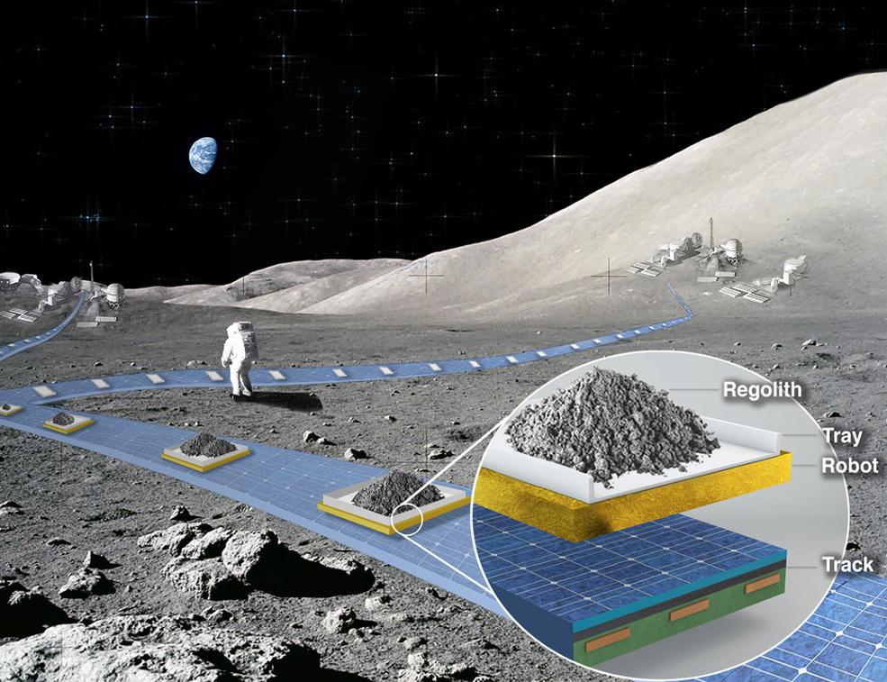 FLOAT (moyen de transport sur la Lune) 11806