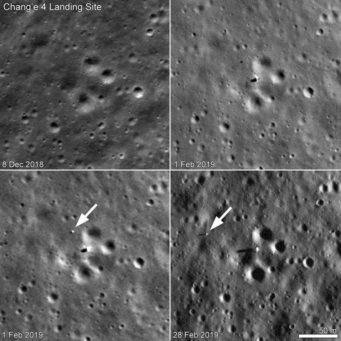 Chang'e 4 - Mission sur la face cachée de la Lune (rover Yutu 2) - Page 11 120