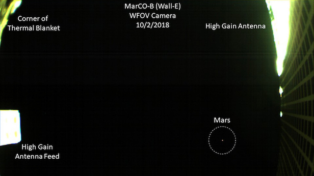 MarCO - Mission vers Mars 1202