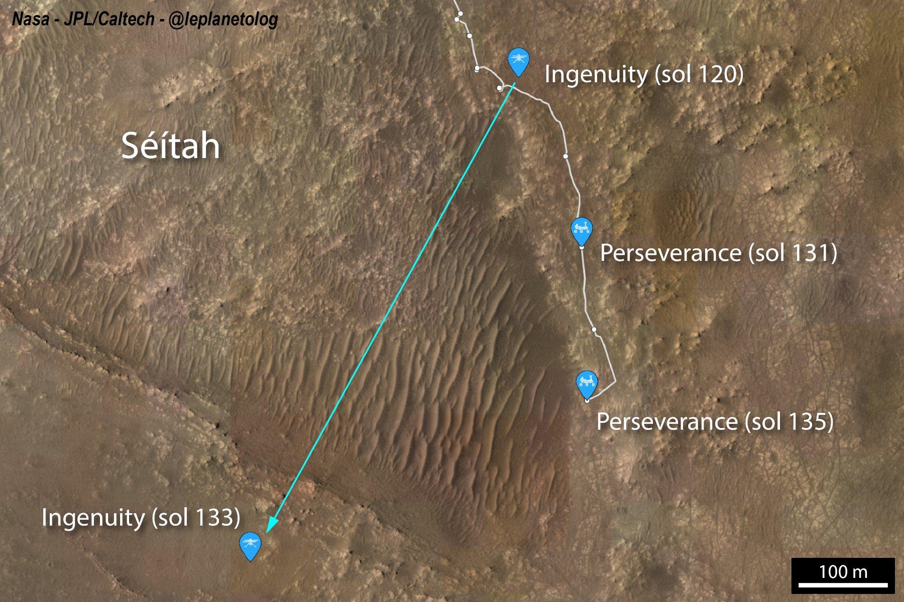 Mars 2020 (Perseverance - Ingenuity) : exploration du cratère Jezero - Page 18 12066