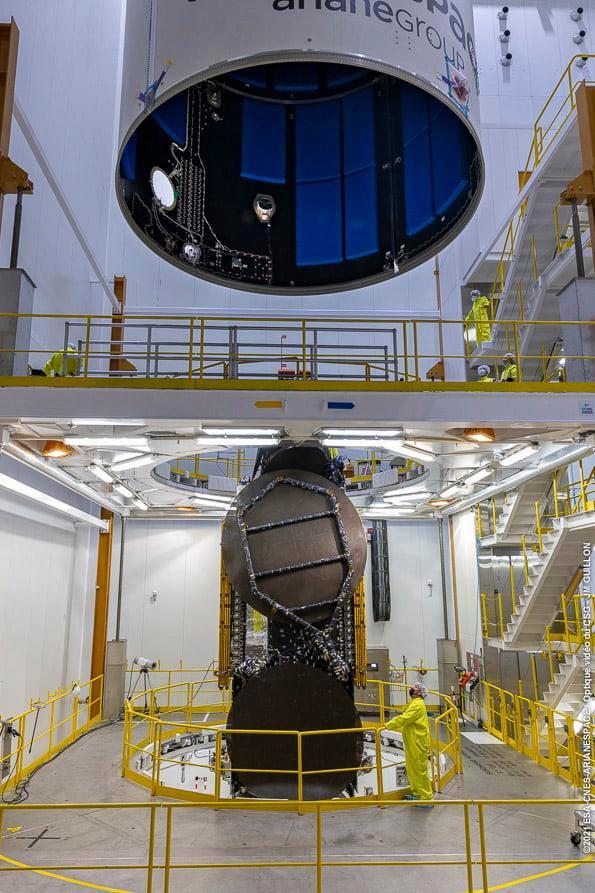 Ariane 5 VA254 (Star One D2 & Eutelsat Quantum) - CSG - 30.7.2021 12075
