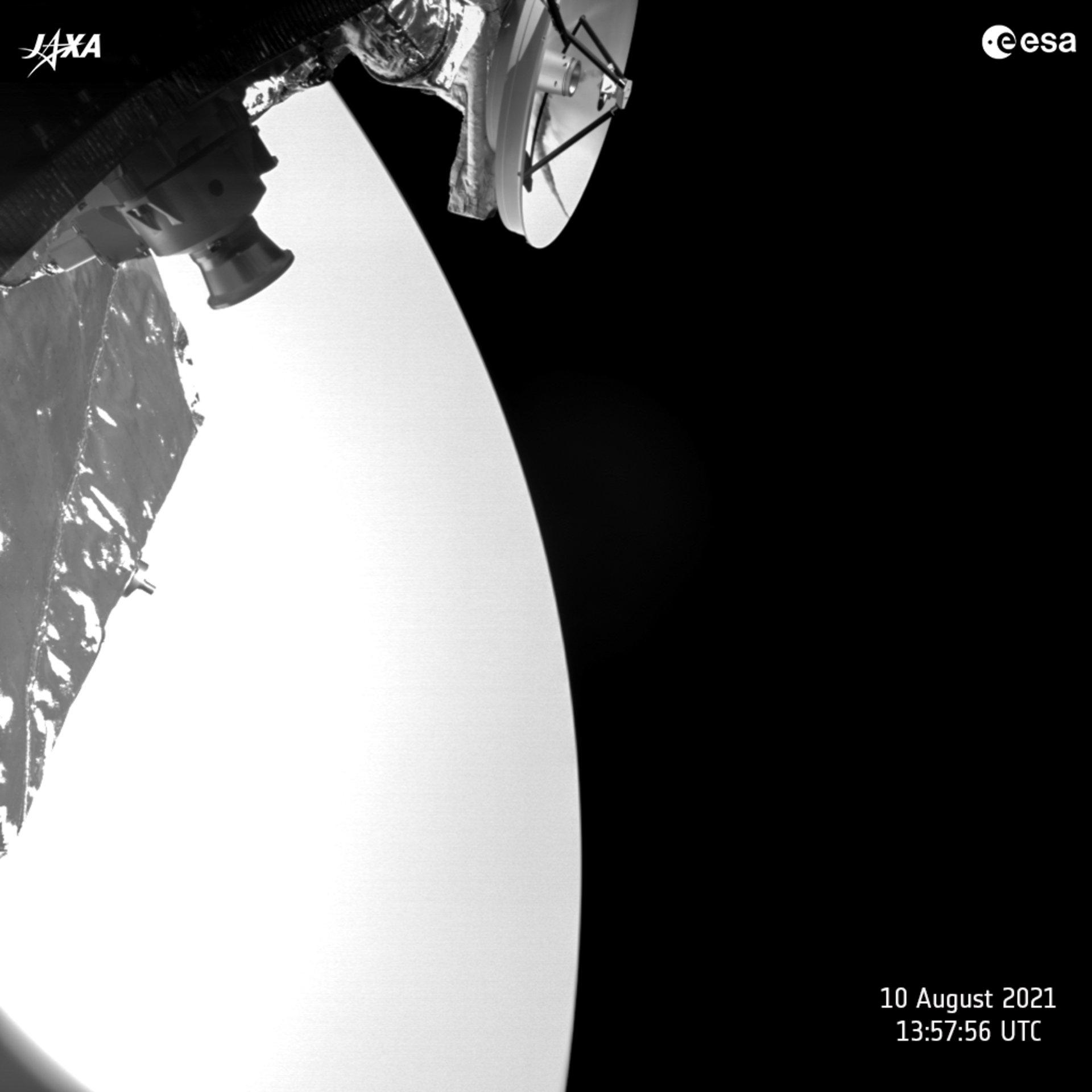 Bepi-Colombo : les survols de Vénus (15.10.2020 ; 10.08.2021) 12092
