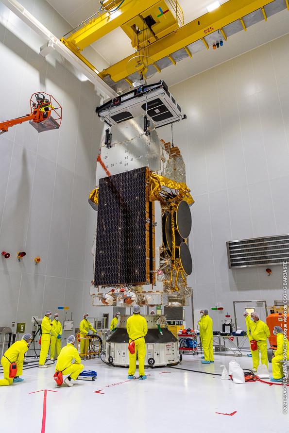 Ariane 5 VA255 (SES 17 & Syracuse 4A) - CSG - 22.10.2021 12182