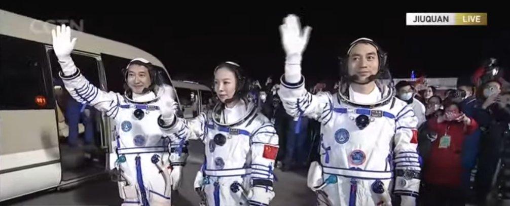 CZ-2F (Shenzhou-13) - JSLC - 15.10.2021 12187