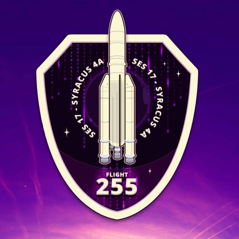 Ariane 5 VA255 (SES 17 & Syracuse 4A) - CSG - 22.10.2021 12190