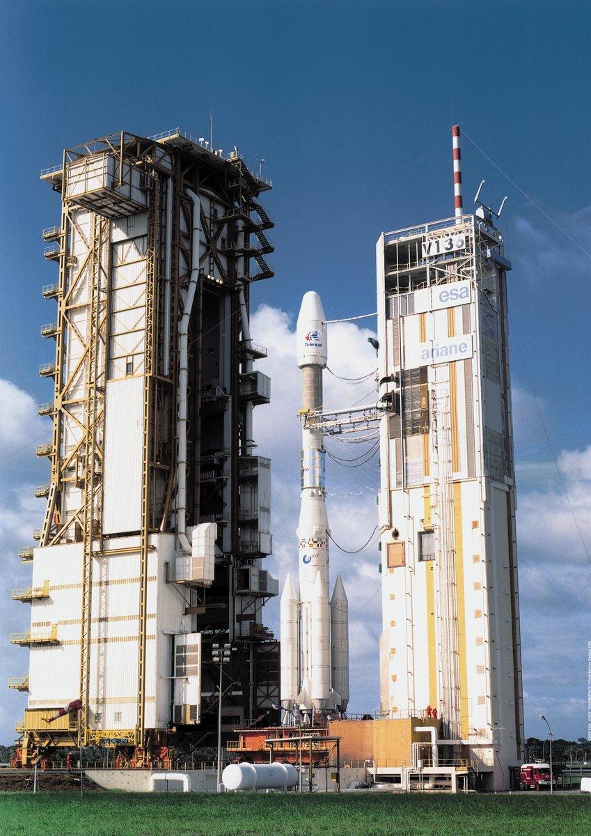 Photos des tirs d'Ariane avant la création du FCS - Page 2 1279