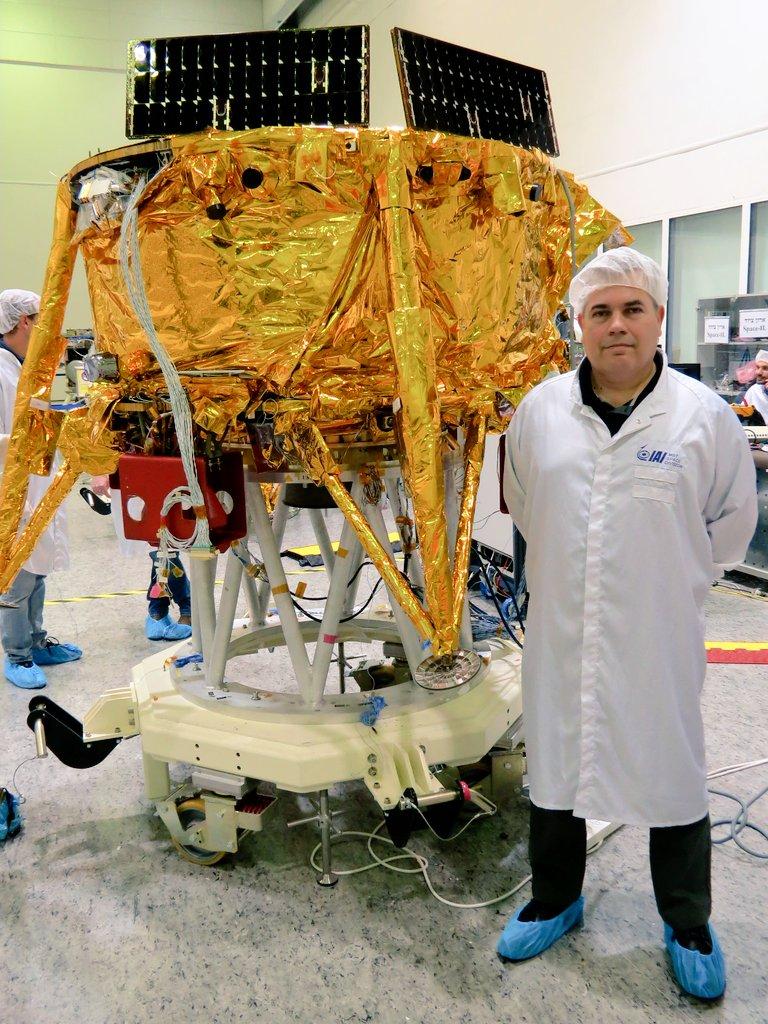 [SpaceIL] Préparation de l'atterrisseur lunaire Beresheet 1320