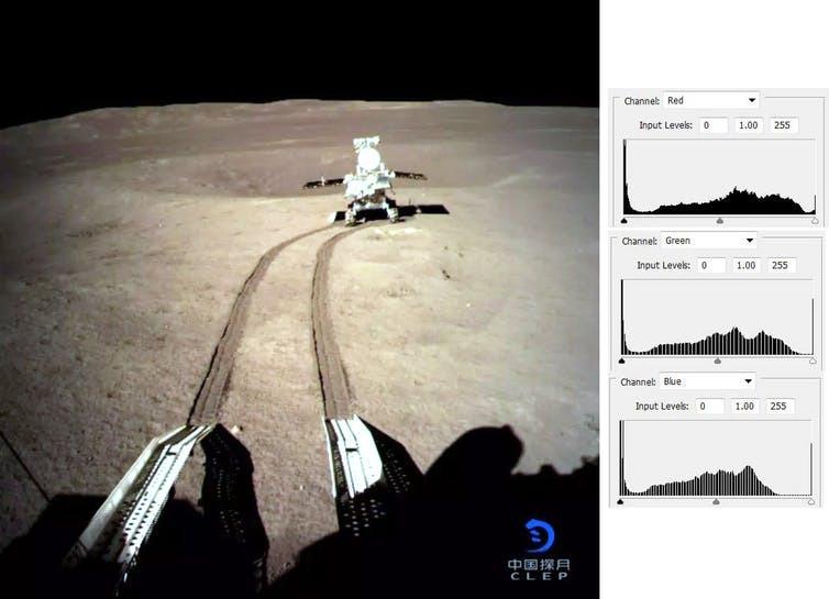 Chang'e 4 - Mission sur la face cachée de la Lune (rover Yutu 2) - Page 7 1375