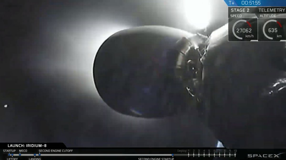 Falcon 9 (Iridium Next 8) - VAFB - 11.1.2019 - Page 2 1382