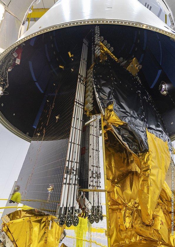 Ariane 5 VA248 (DirecTV 16 & Eutelsat 7C) - 20.06.2019  1709
