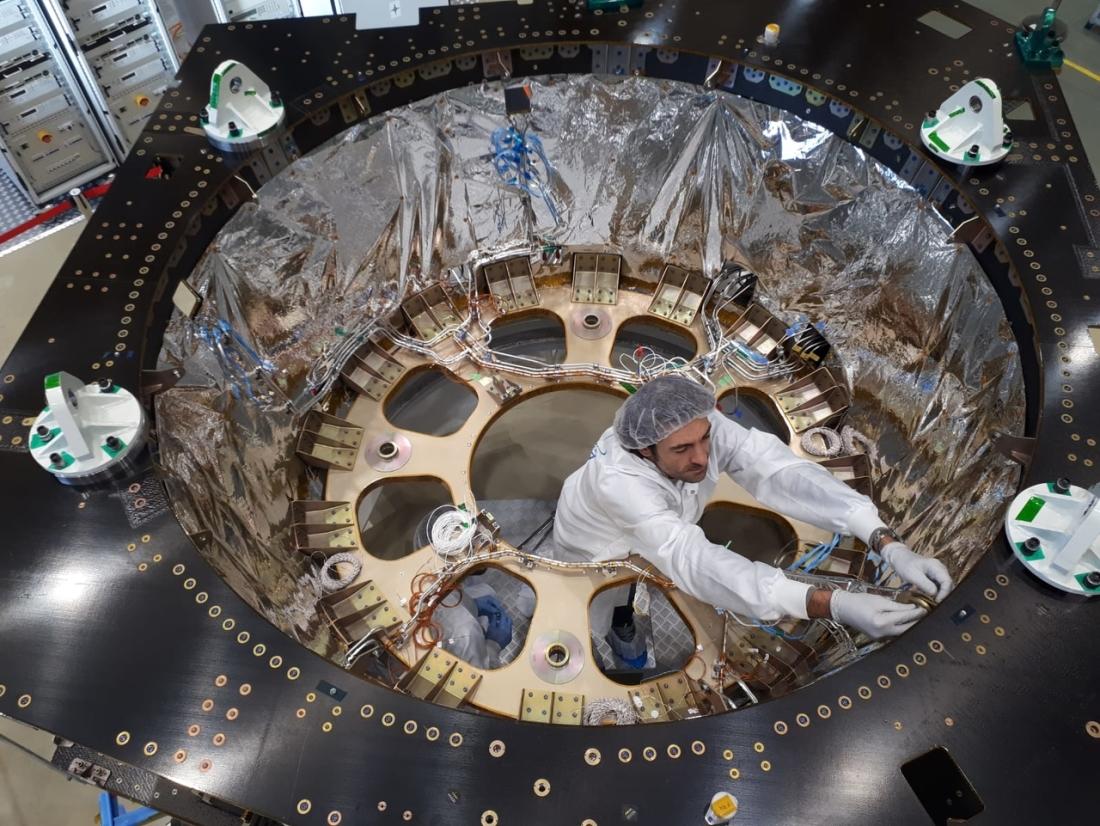 Le télescope spatial Euclid (2022). 1742