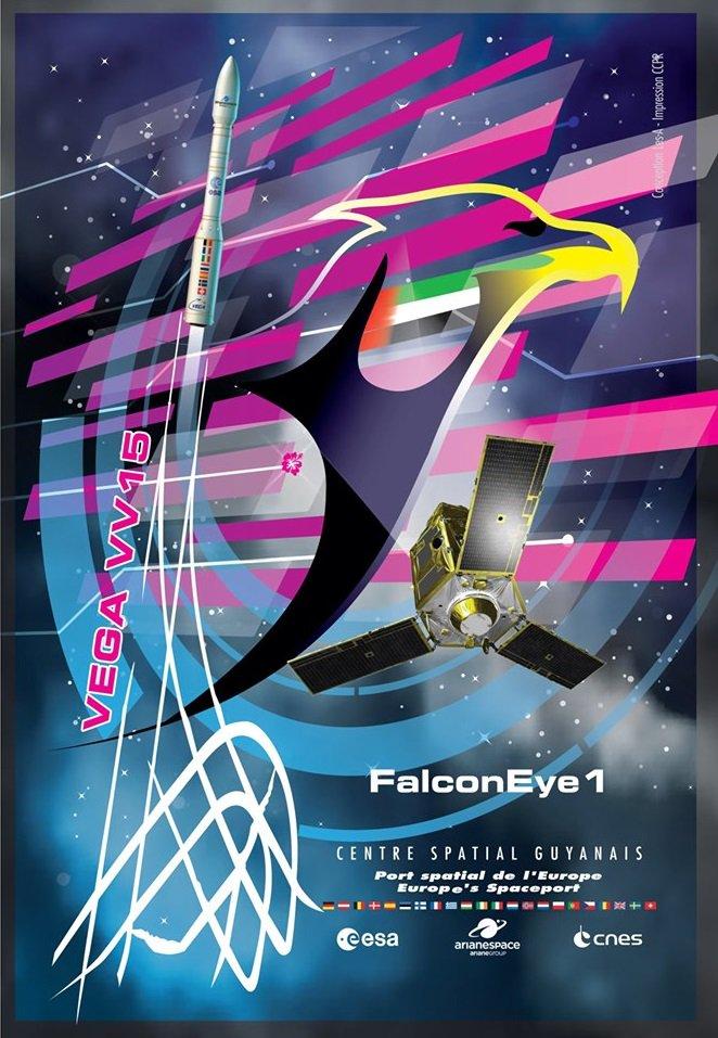 Vega VV15 (Falcon Eye 1) - 11.7.2019 - [Echec] 1752