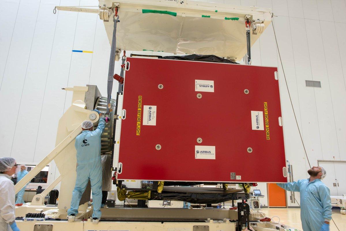 Ariane 5 VA249 (Intelsat 39 + EDRS-C/Hylas-3) - 6.8.2019   1757